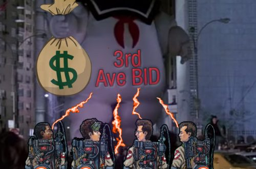 3rd ave BID busters vote no
